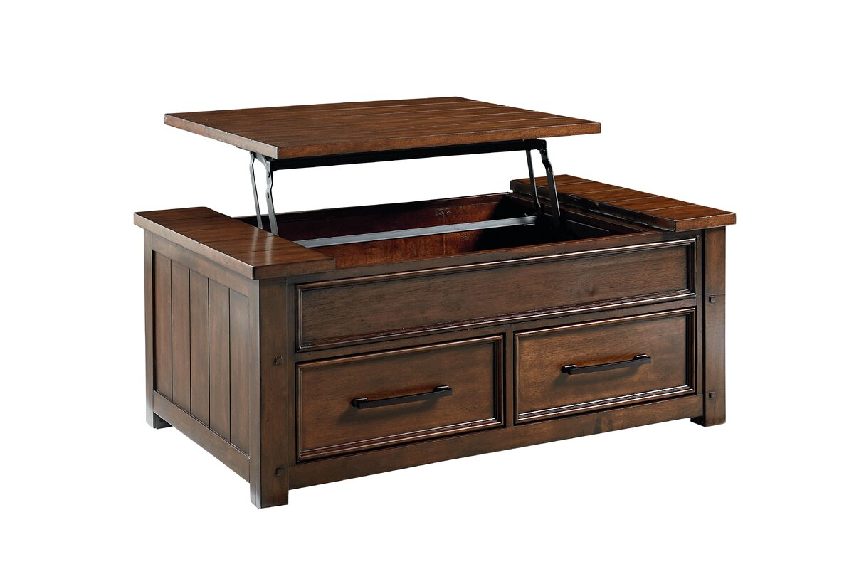 Standard furniture cameron lift top coffee table reviews wayfair cameron lift top coffee table geotapseo Image collections