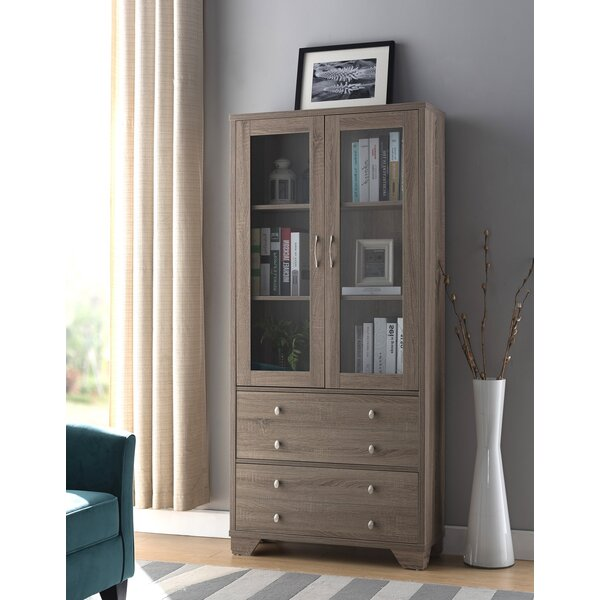 Johnston Contemporary Standard Bookcase by Rosecliff Heights