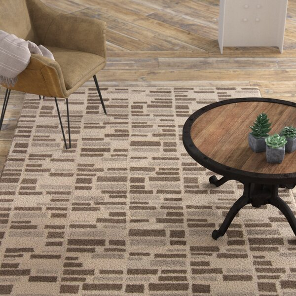 Bonni Beige Area Rug by 17 Stories