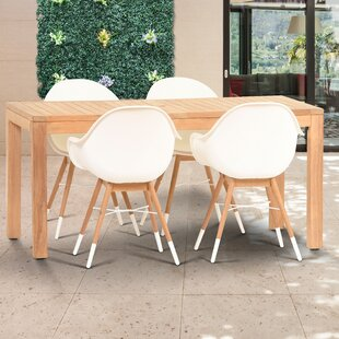 Cossette 5 Piece Dining Set By Corrigan Studio
