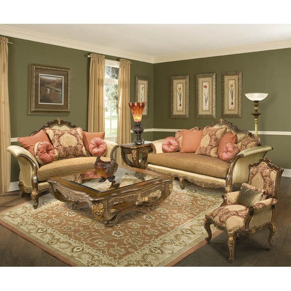Regalia Configurable Living Room Set by Benetti's Italia