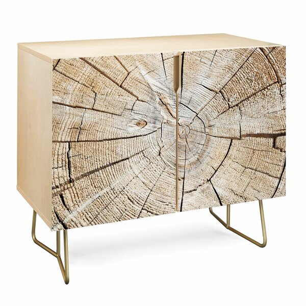 Lisa Wood Cut 2 Door Accent Cabinet by East Urban Home East Urban Home