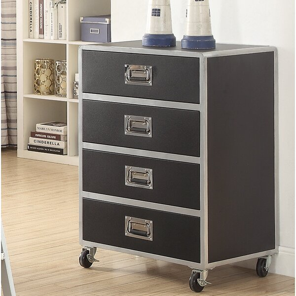 Roosevelt 4 Drawer Standard Chest by Zoomie Kids
