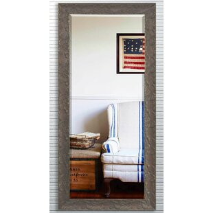 Read Reviews Brown Wood Beveled Wall Mirror By Darby Home Co