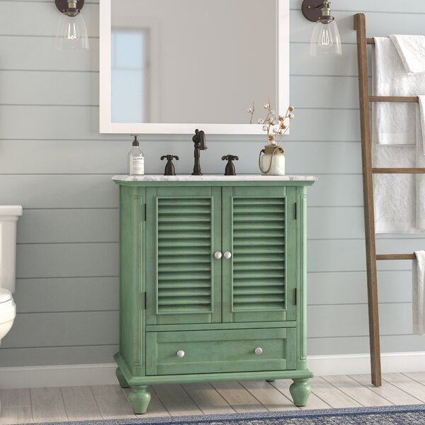 Macdonald 30 Single Bathroom Vanity Set by August Grove