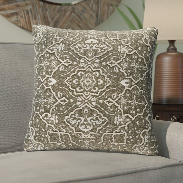 Brandon Throw Pillow by World Menagerie