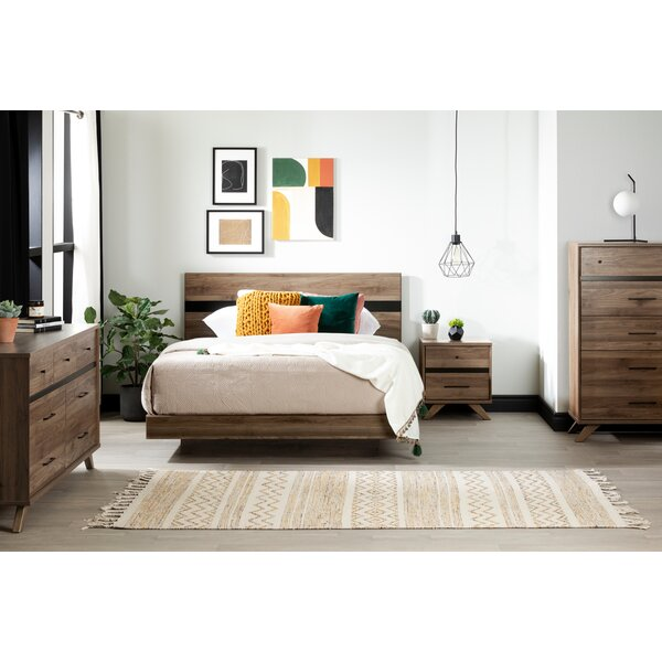 Timothy Queen Platform Configurable Bedroom Set by Foundstone