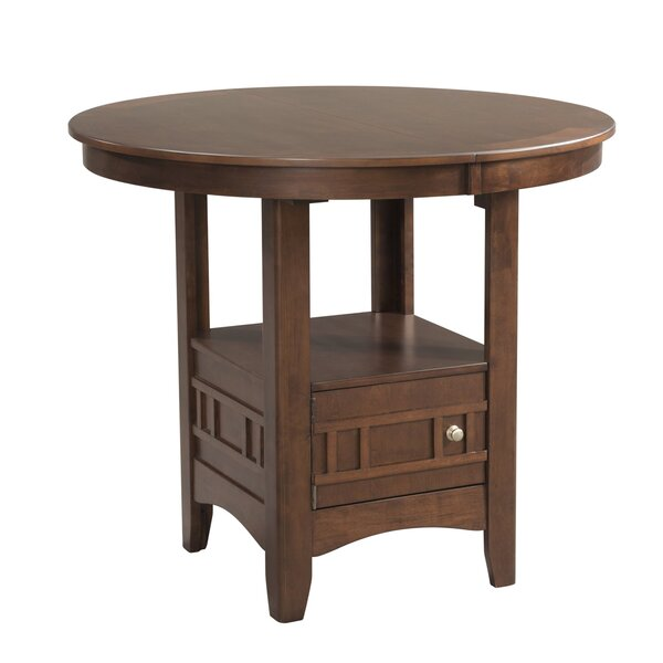 Mcnaughton Pub Table by Alcott Hill
