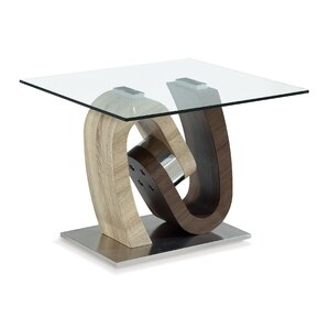 Claus End Table by Orren Ellis
