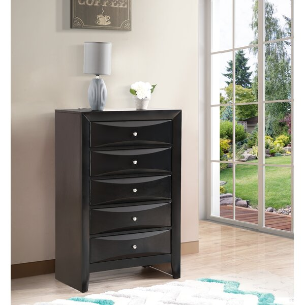 Towslee 5 Drawer Chest by Winston Porter