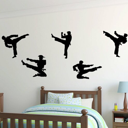 Marcie Karate Martial Arts Wall Decal by Zoomie Kids