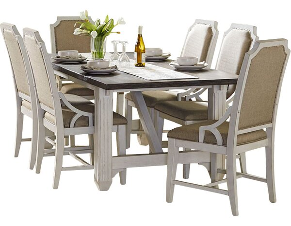 Georgetown Dining Table by Beachcrest Home Beachcrest Home