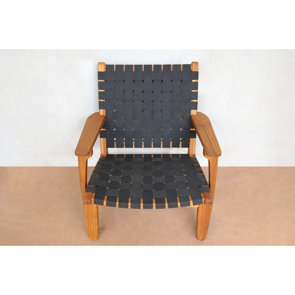 Outdoor Teak Patio Chair by Masaya & Co