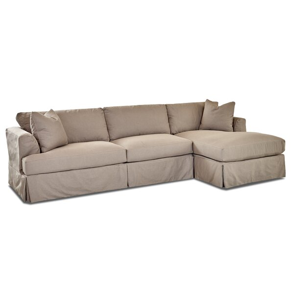 Reese Reversible Sectional by August Grove
