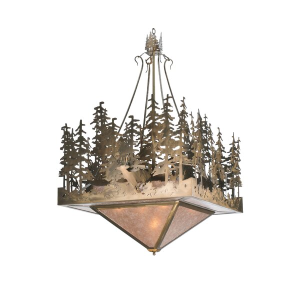 Hinman 5 - Light Unique Tiered Chandelier By Millwood Pines