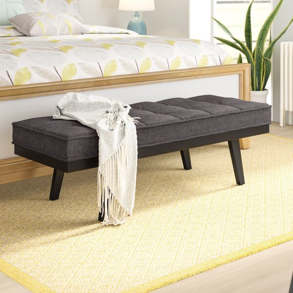 Huntsman Upholstered Bench by Wrought Studio