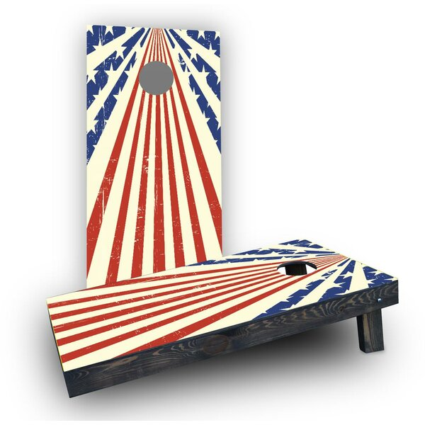 Star Spangled Cornhole Boards (Set of 2) by Custom Cornhole Boards