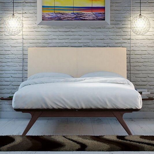 Hannigan Upholstered Platform Bed by Langley Street