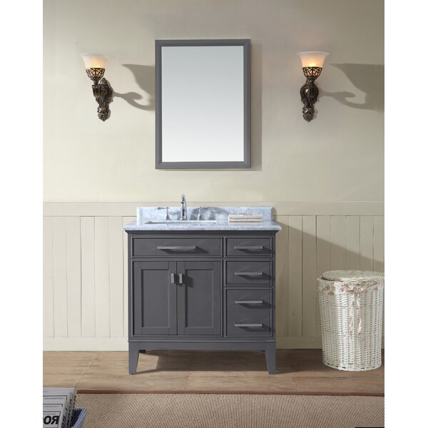 Arminta 36 Single Bathroom Vanity Set by Charlton