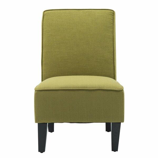 Deusenburg Slipper Chair by Ebern Designs