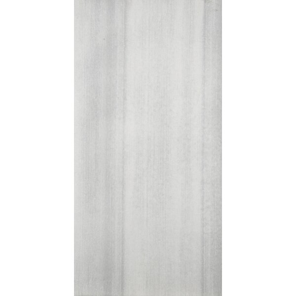 Perspective 12 x 24 Porcelain Fabric Look/Field Tile in White by Emser Tile