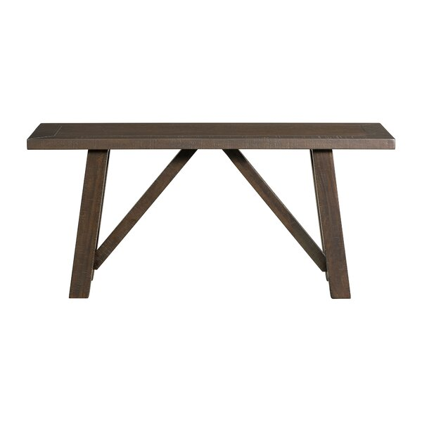 Sorrentino Wood Bench by Millwood Pines