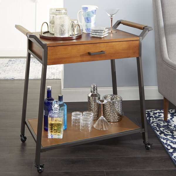 Samira Modern Bar Cart by Union Rustic