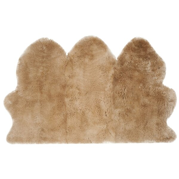 Dax Natural Beige Area Rug by Willa Arlo Interiors