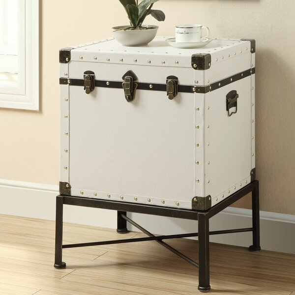Camp End Table With Storage By Wildon Home®