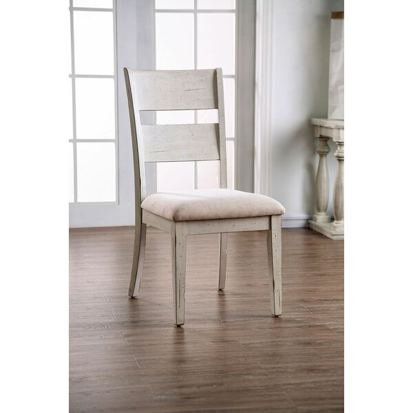 Virgil Upholstered Dining Chair (Set of 2) by One Allium Way One Allium Way