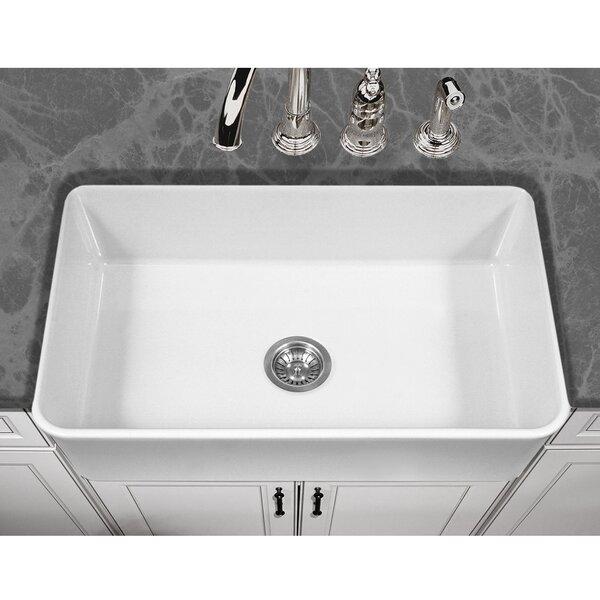 Platus 33 L x 20 W Apron Kitchen Sink by Houzer
