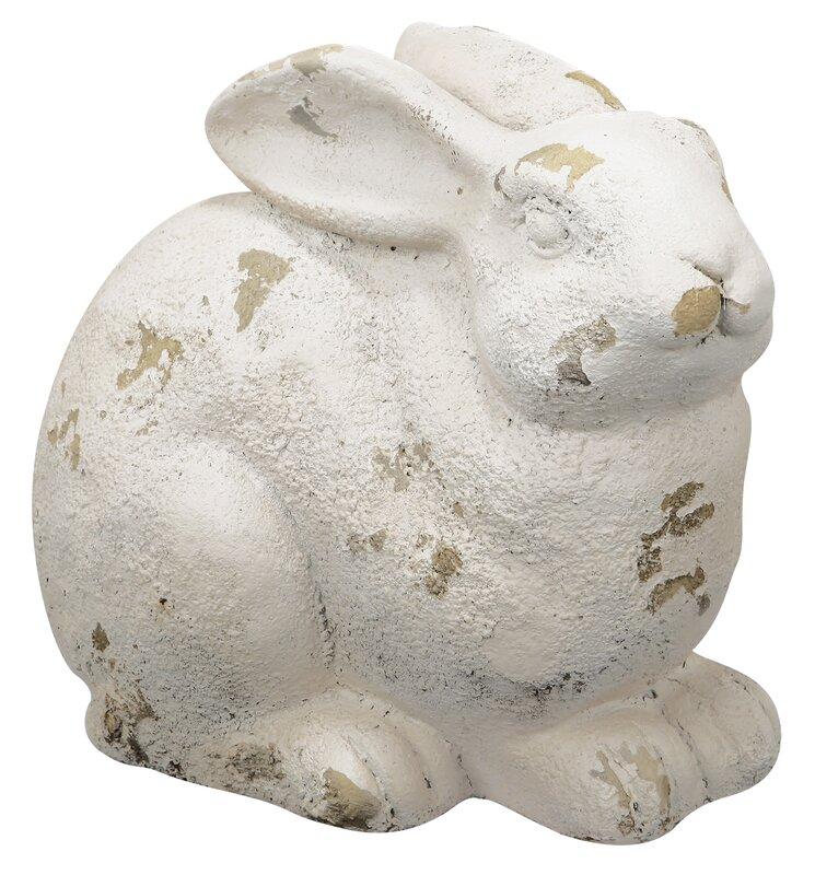 9 in. Rabbit Figurine