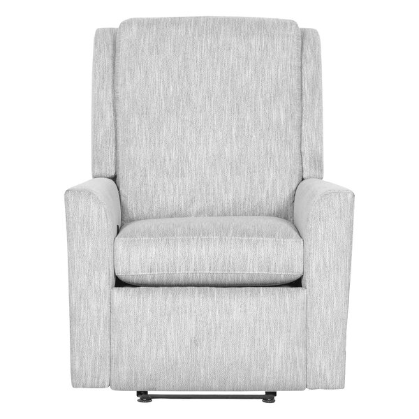 Hickory Leather Manual Recliner By Fairfield Chair