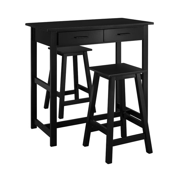 Design Dowdell 3 Piece Pub Set By Alcott Hill Great Reviews