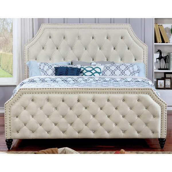 Ronald Upholstered Platform Bed by Willa Arlo Interiors