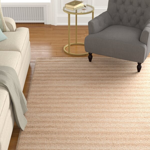 Grace Beige Area Rug by Alcott Hill