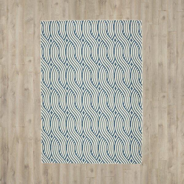Lucia Blue/Gray Indoor  Area Rug by Zipcode Design