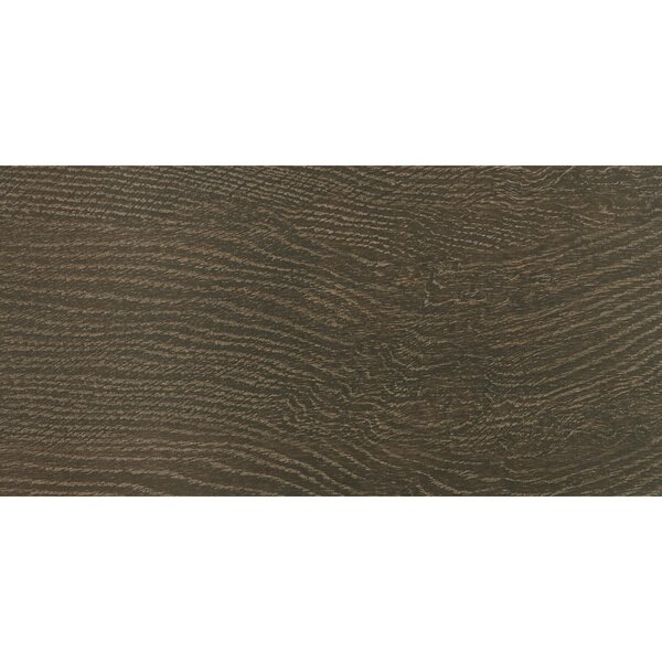 Harmony Grove 6 x 36 Porcelain Wood Look Tile in Oak Chocolate by PIXL
