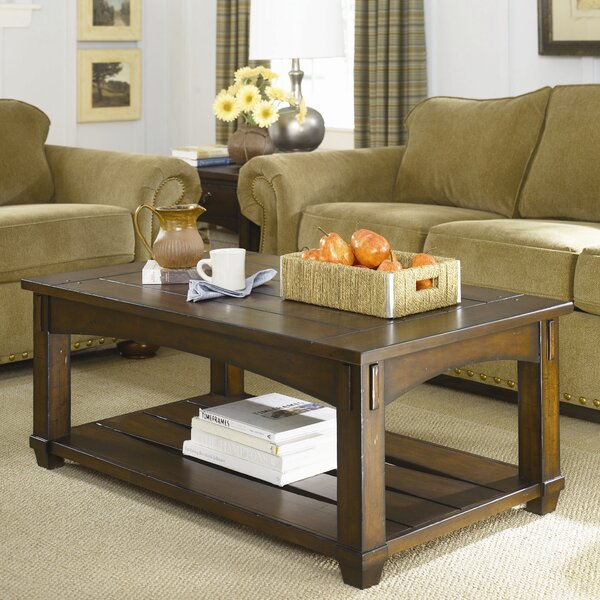 Fort Bragg Coffee Table with Lift-Top by Loon Peak Loon Peak