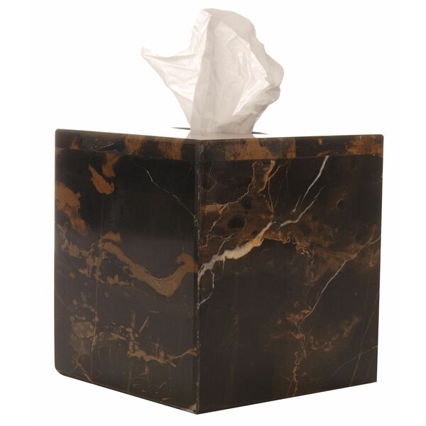Westmont Marble Tissue Box Cover by Red Barrel Studio