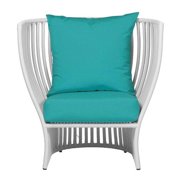 Napa Patio Chair with Sunbrella Cushions by David Francis Furniture