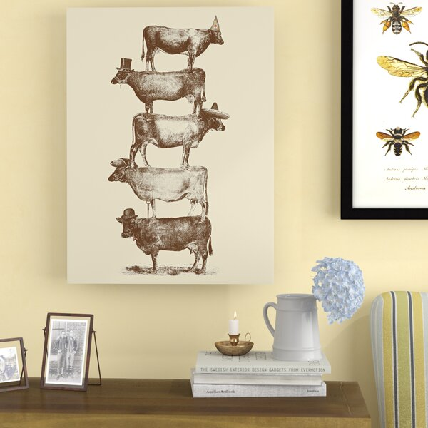 Cow Cow Nuts 2 Poster Gallery Graphic Art by Laurel Foundry Modern Farmhouse