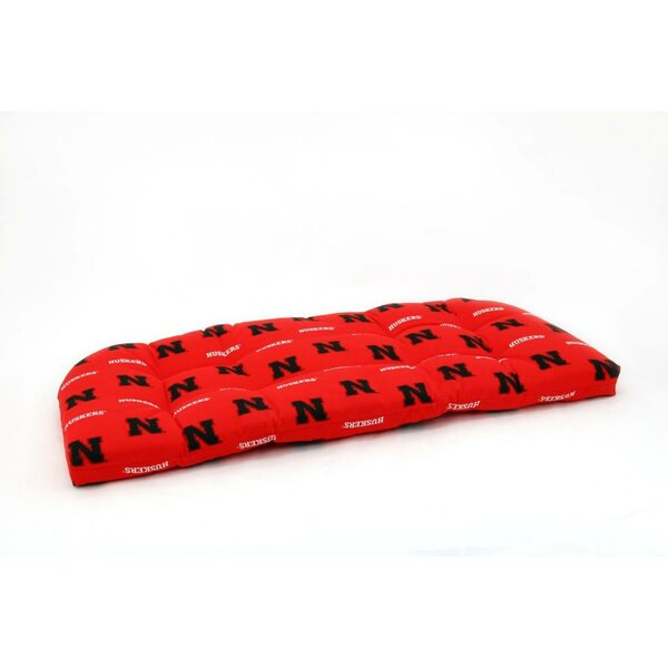 NCAA Nebraska Indoor/Outdoor Sofa Cushion By College Covers