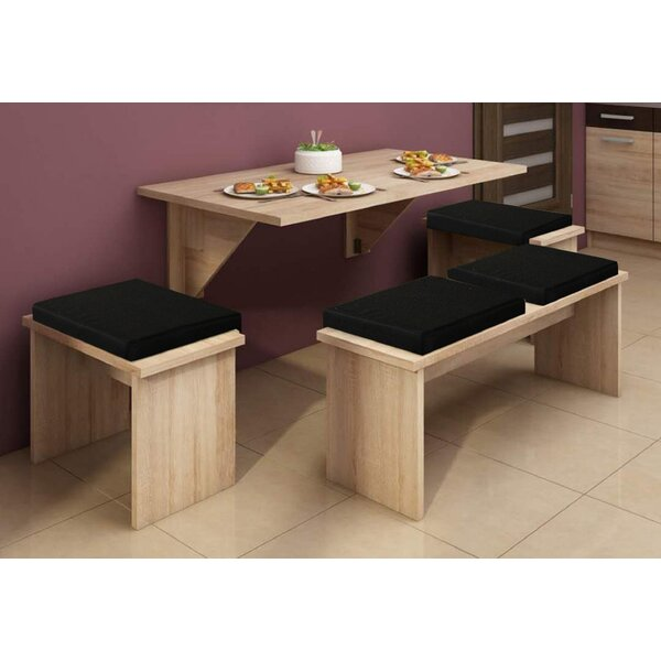 Branksome 4 Piece Dining Set By Ebern Designs