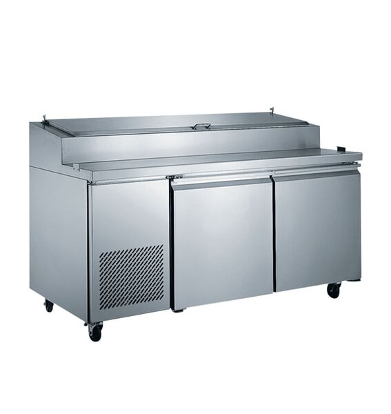 Commercial Pizza Prepare Table 16.8 cu. ft. Energy Star Counter Depth All-Refrigerator by EQ Kitchen Line