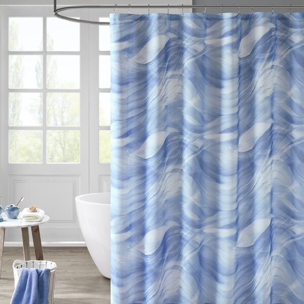 Ramonne Printed Shower Curtain by Highland Dunes