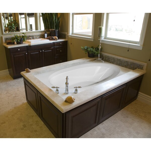 Designer Ovation 72 x 42 Salon Spa Soaking Bathtub by Hydro Systems