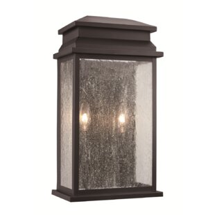 Best Price George 2-Light Outdoor Flush Mount By Gracie Oaks