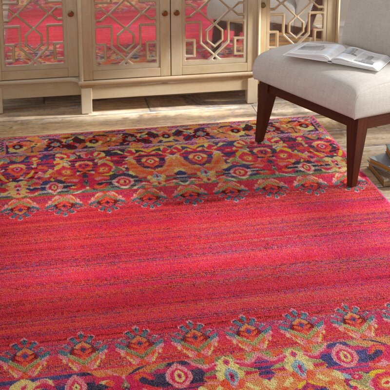 Holsinger Red Area Rug Holsinger Red Area