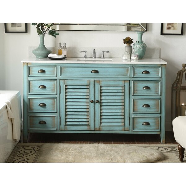Annabella 60 Single Bathroom Vanity Set by One Allium Way
